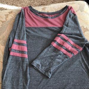 Arizona Jeans Company 3/4 sleeves Baseball Tee